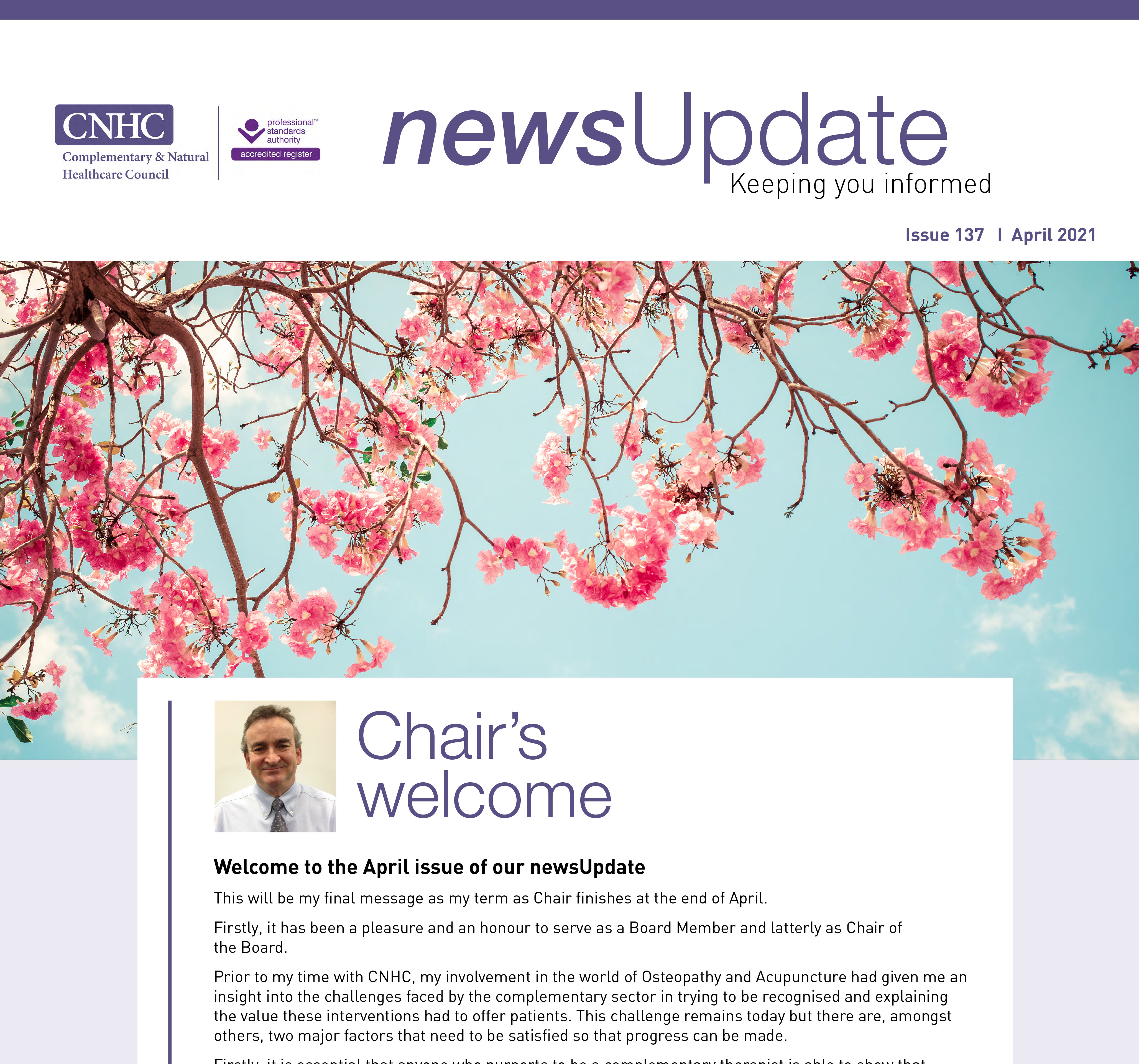 Our April newsUpdate is out now