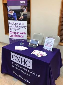 CNHC Exhibit at The King's Fund