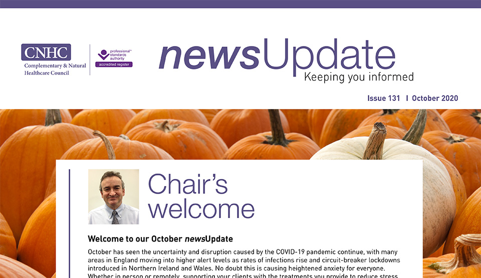 Our October newsUpdate is out now