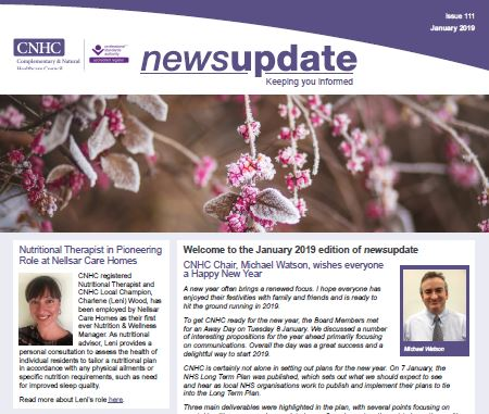 CNHC January Newsletter - out now!