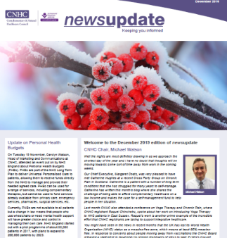 CNHC December Newsletter - out now!