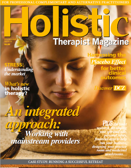 Edition 31 - Holistic Therapist E-Magazine is now available