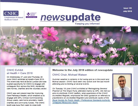 CNHC July Newsletter - out now!