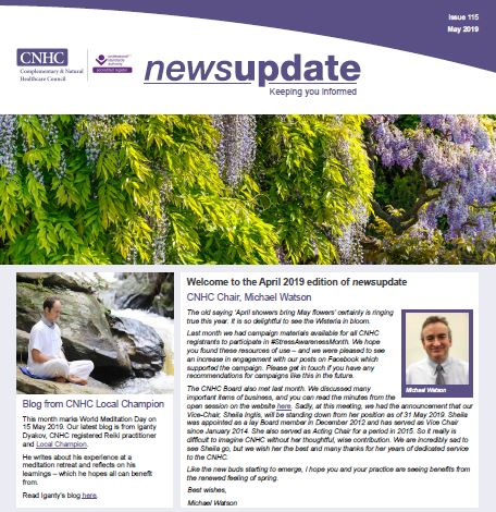 May Newsletter out now!