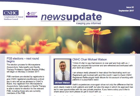 CNHC September Newsletter - out now!