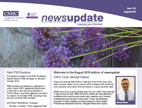 CNHC August Newsletter - out now!