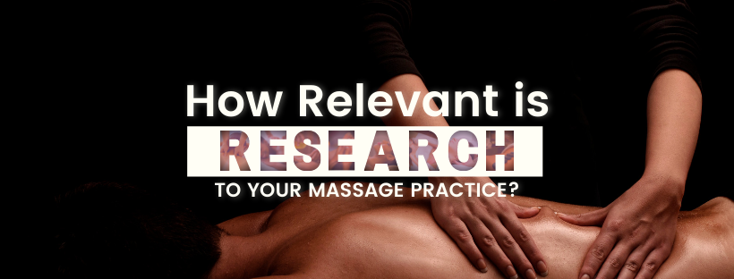 Massage therapy: What does being an 'evidence-informed practitioner' mean to you?