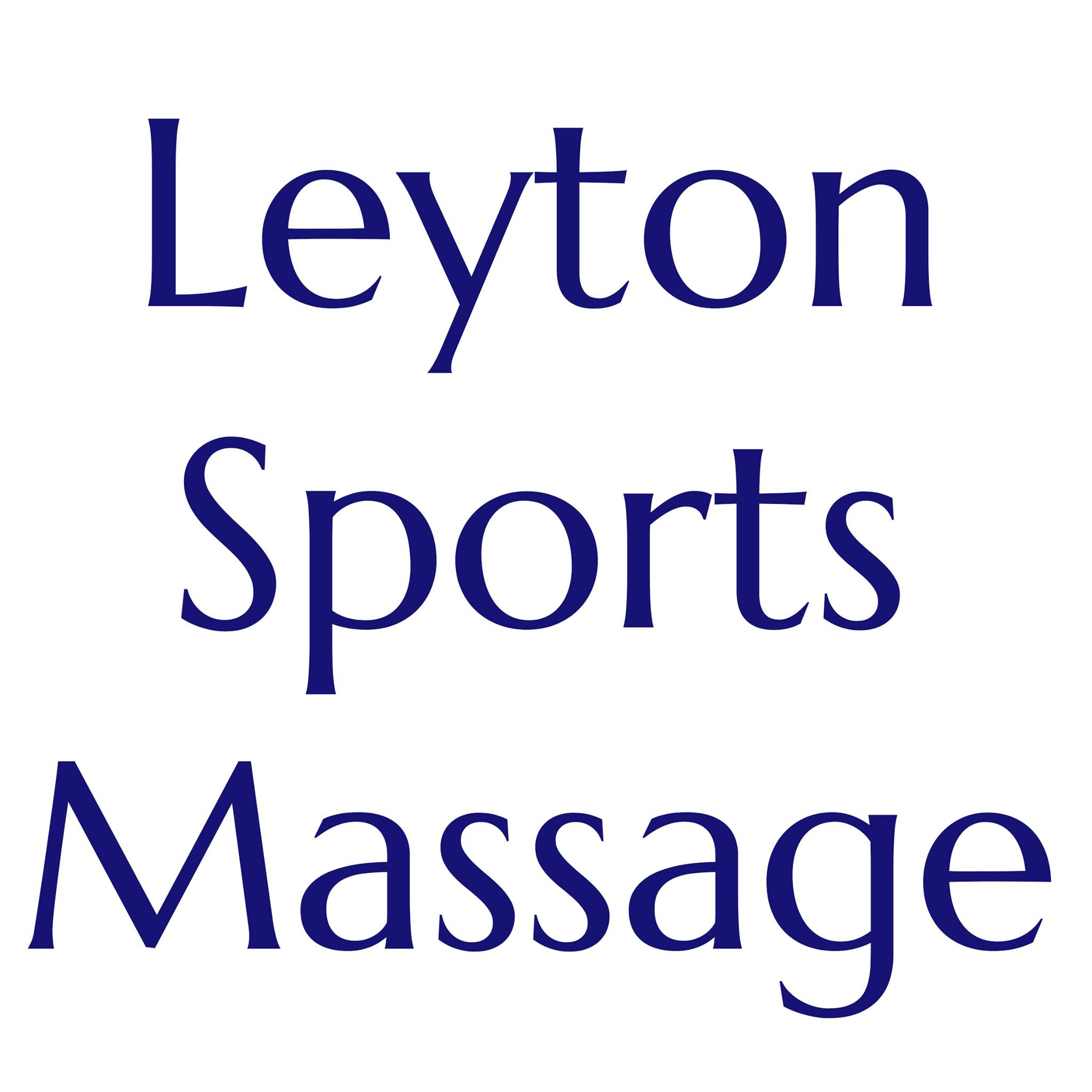 Opportunity for a CNHC Registrant - Leyton Sports Massage