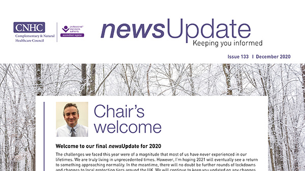 Our December newsUpdate is out now